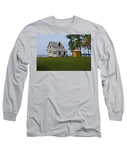 South Bass Island Lighthouse Barn And Oil Storage Building I Long Sleeve T-Shirt