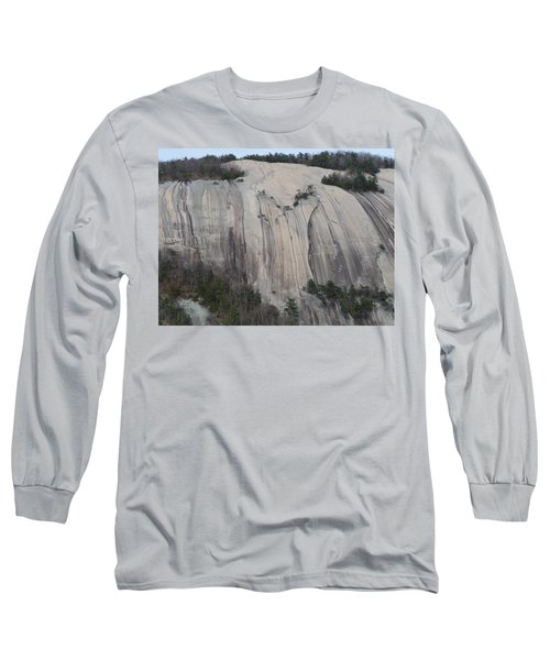 South Face - Stone Mountain Long Sleeve T-Shirt by Joel Deutsch