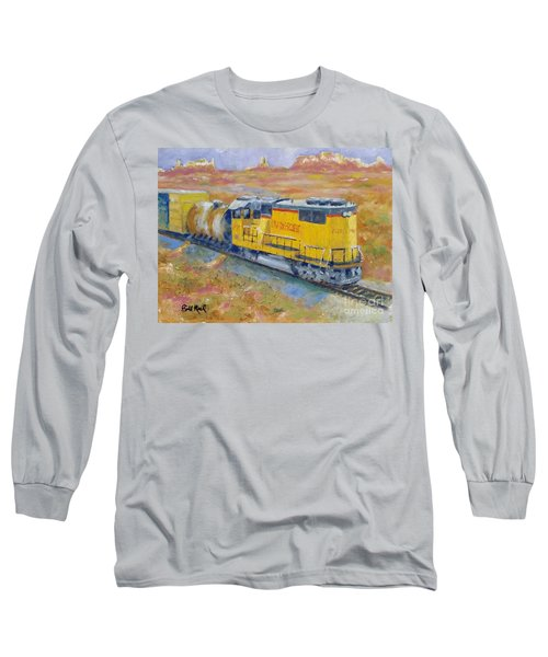 South West Union Pacific Long Sleeve T-Shirt by William Reed