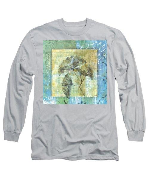 Spa Gingko Postcard  2 Long Sleeve T-Shirt