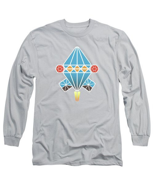 Spacecraft Long Sleeve T-Shirt by Gaspar Avila