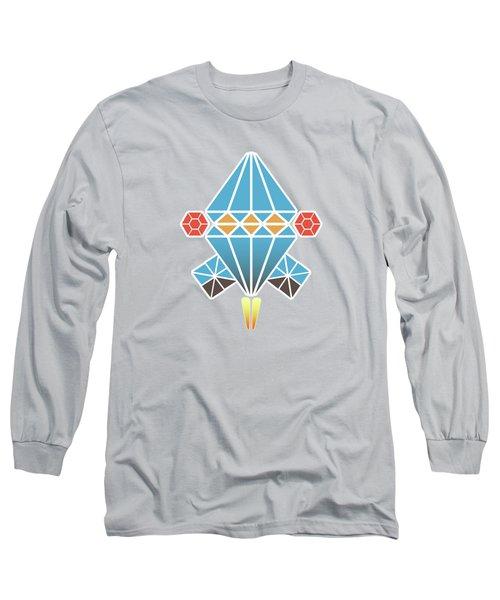 Spacecraft Long Sleeve T-Shirt