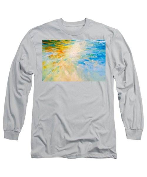 Sparkle And Flow Long Sleeve T-Shirt by Dina Dargo