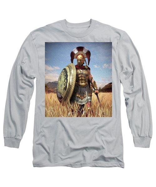 Spartan Hoplite - 02 Long Sleeve T-Shirt