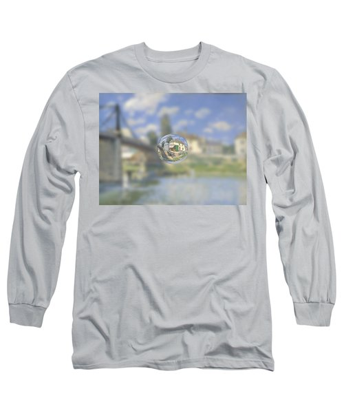 Sphere 18 Sisley Long Sleeve T-Shirt by David Bridburg