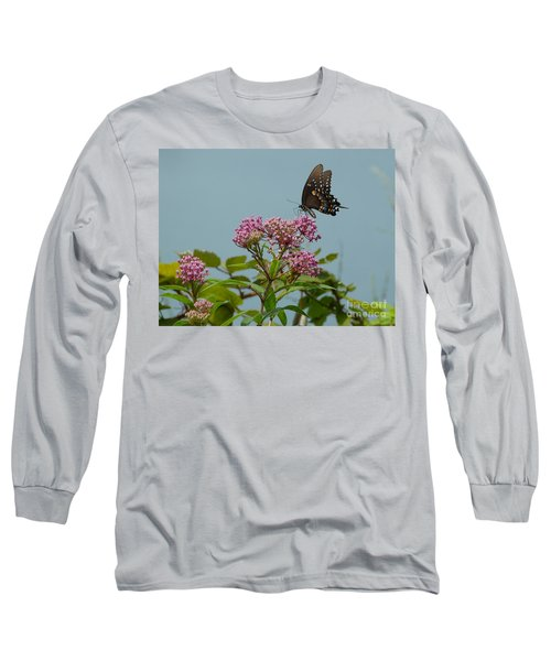 Spicebush Butterfly Long Sleeve T-Shirt