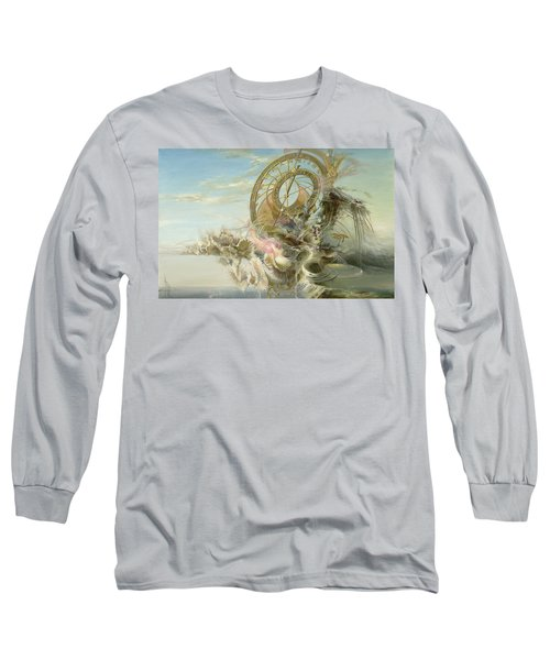 Spiral Of Time Long Sleeve T-Shirt