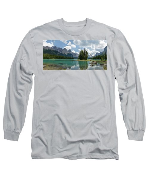 Spirit Island And The Hall Of The Gods Long Sleeve T-Shirt by Sebastien Coursol