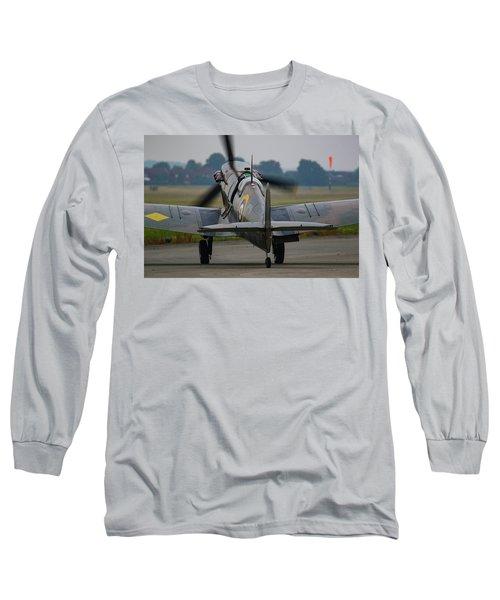 Spitfire Start Up Long Sleeve T-Shirt by Ken Brannen