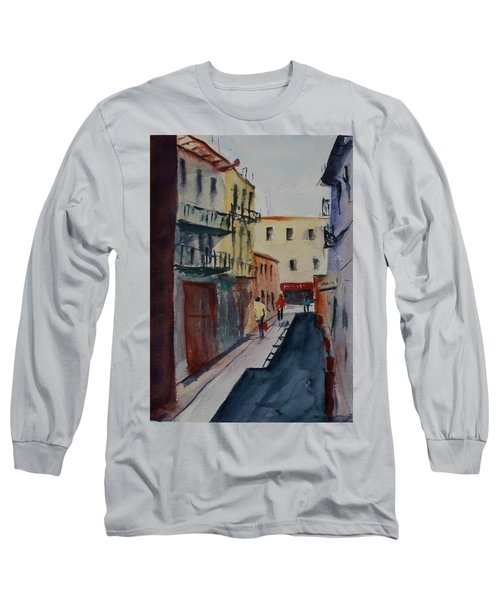 Spofford Street2 Long Sleeve T-Shirt by Tom Simmons
