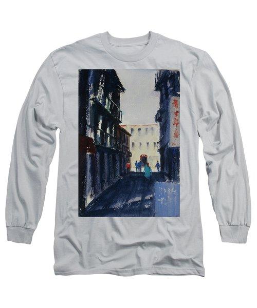 Spofford Street4 Long Sleeve T-Shirt by Tom Simmons