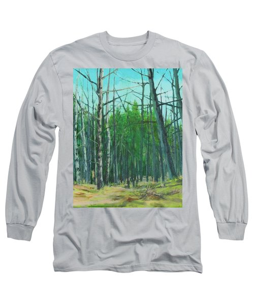Spring Aspens Long Sleeve T-Shirt