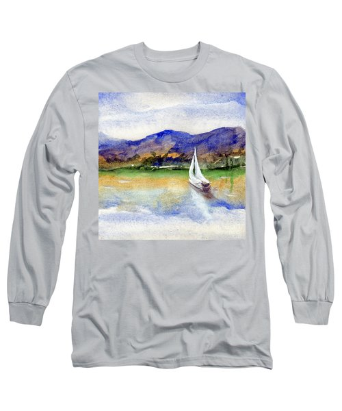 Spring At Our Island Long Sleeve T-Shirt by Randy Sprout