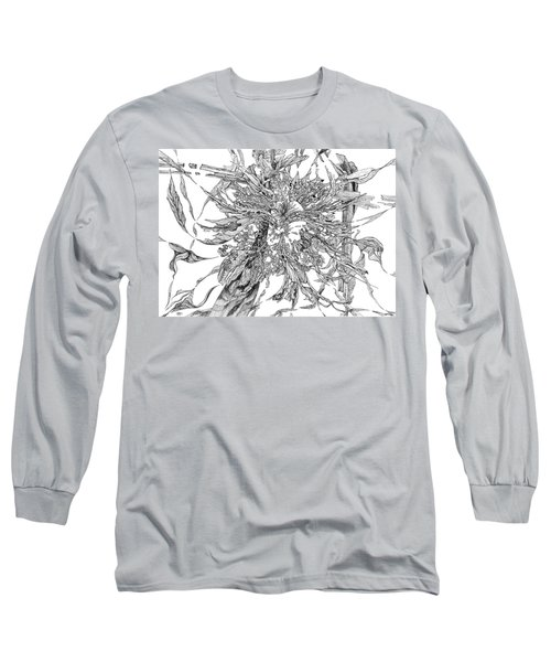 Spring Burst Long Sleeve T-Shirt by Charles Cater