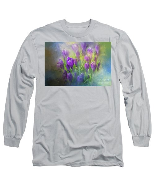 Spring Delight Long Sleeve T-Shirt by Eva Lechner