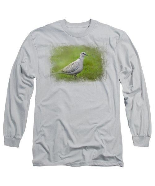 Spring Dove Long Sleeve T-Shirt by Jai Johnson