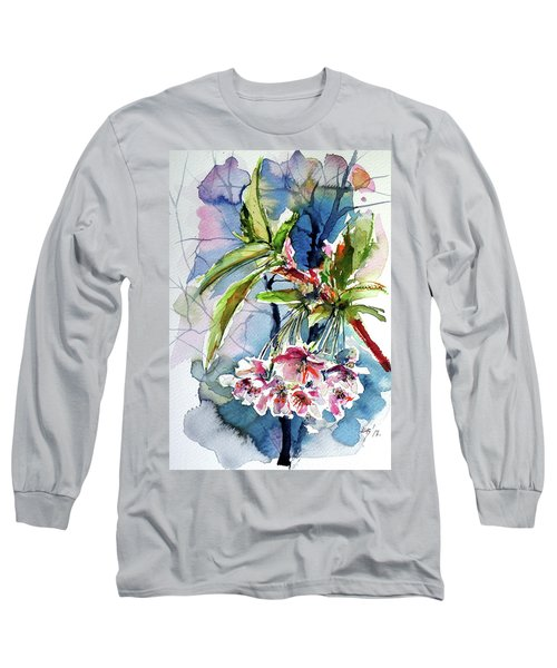 Spring Flower Long Sleeve T-Shirt by Kovacs Anna Brigitta