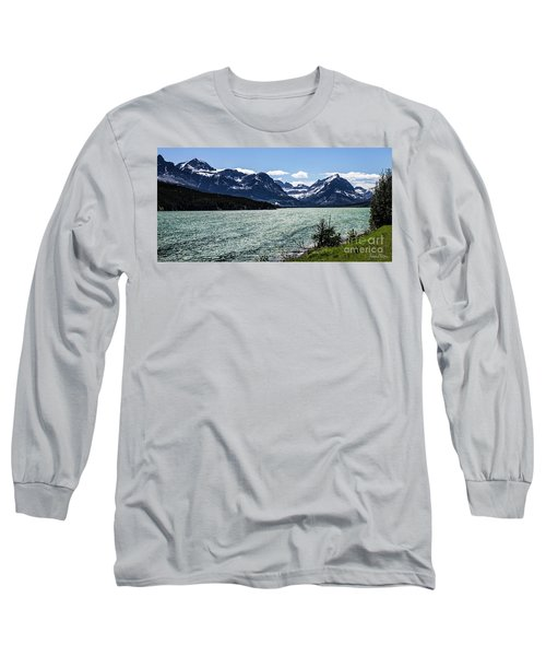 Many Glacier Long Sleeve T-Shirt