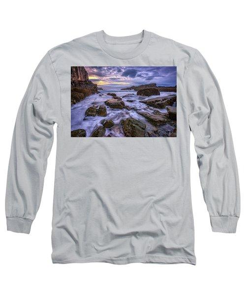 Spring Morn At Bald Head Cliff Long Sleeve T-Shirt by Rick Berk