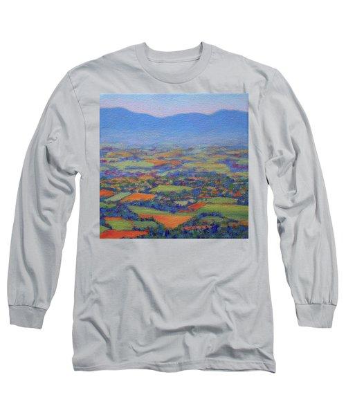 Spring Patchwork 2 Long Sleeve T-Shirt by Bonnie Mason