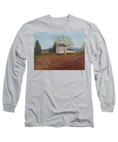 Spring Plowing Long Sleeve T-Shirt