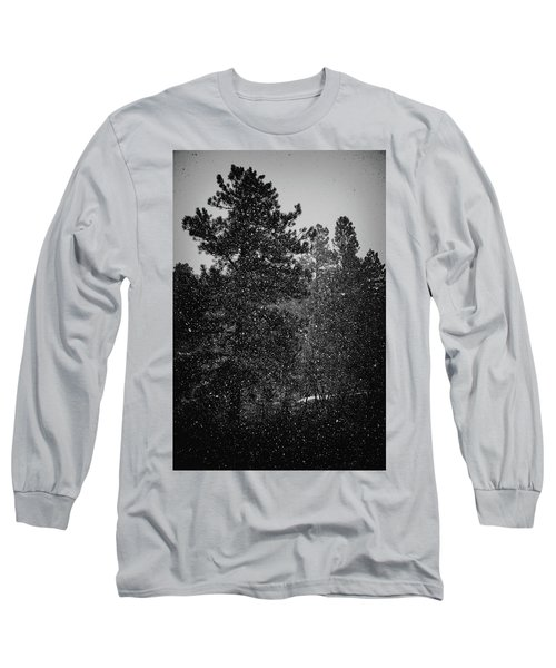 Spring Snowstorm Long Sleeve T-Shirt