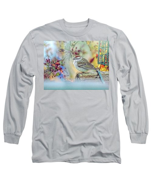 Spring Sparrow Long Sleeve T-Shirt