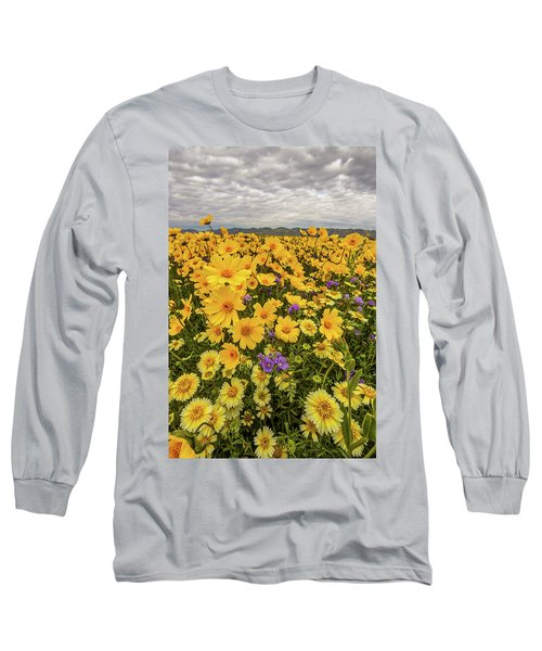 Long Sleeve T-Shirt featuring the photograph Spring Super Bloom by Peter Tellone