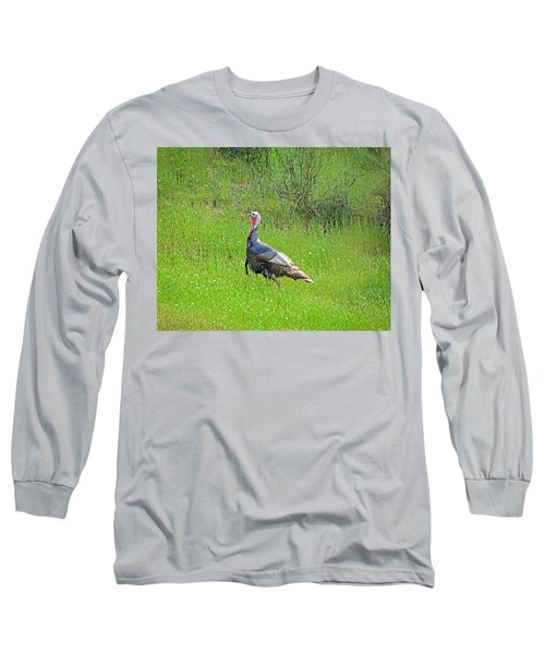 Spring Turkey Gobbler Long Sleeve T-Shirt