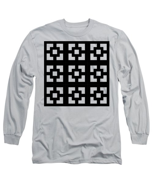 Squares Multiview Long Sleeve T-Shirt by Chuck Staley