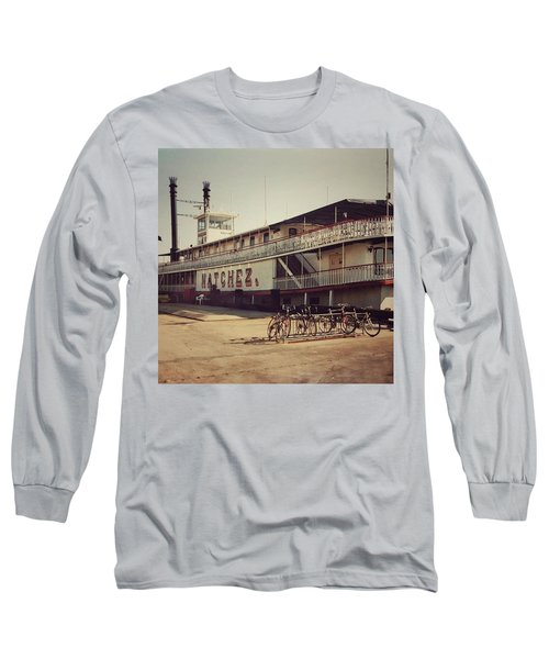 Ss Natchez, New Orleans, October 1993 Long Sleeve T-Shirt