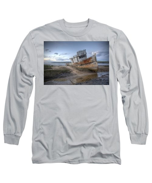 Ss Point Reyes In Inverness Before Demolition Long Sleeve T-Shirt