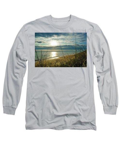 St Aug Sunrise Long Sleeve T-Shirt by Josy Cue
