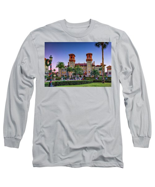 St. Augustine, Fl - Lightner Lights Long Sleeve T-Shirt