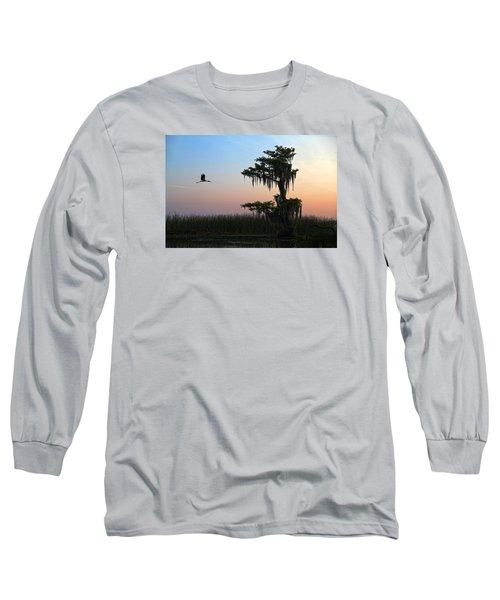 St Augustine Morning Long Sleeve T-Shirt by Robert Och