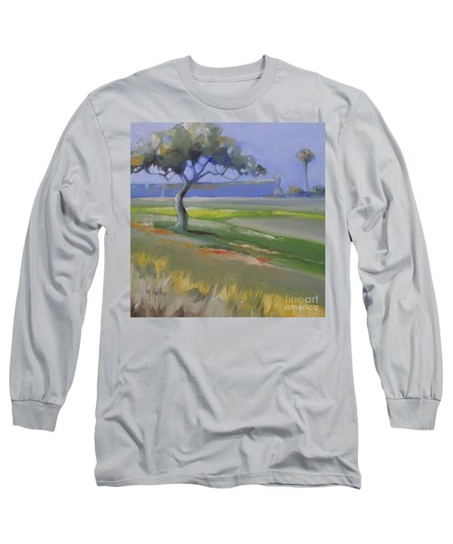 St. Augustine Spanish Castillo Long Sleeve T-Shirt by Mary Hubley