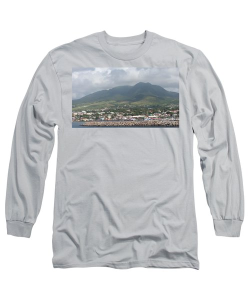 St. Kitts Color Long Sleeve T-Shirt