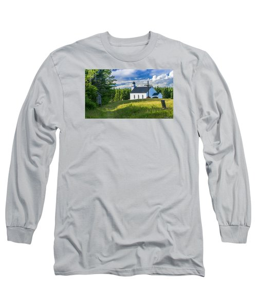 St. Margaret's Of Scotland Long Sleeve T-Shirt by Ken Morris