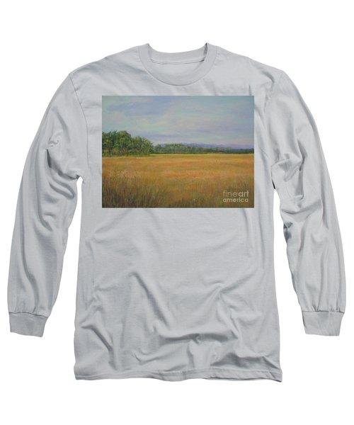 St. Marks Refuge I - Autumn Long Sleeve T-Shirt by Gail Kent