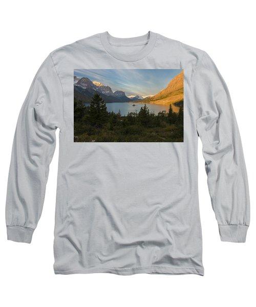 St. Mary Lake Long Sleeve T-Shirt
