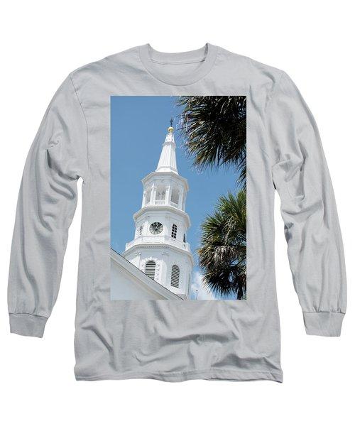 St. Michael's Long Sleeve T-Shirt by Ed Waldrop