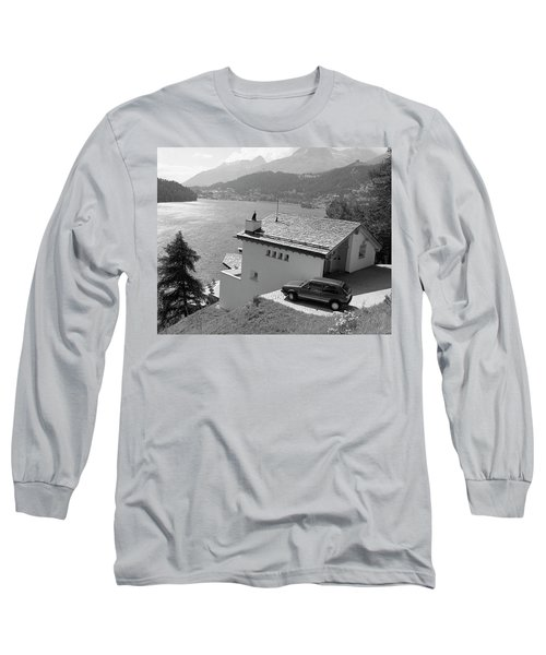 Long Sleeve T-Shirt featuring the photograph St Moritz by Jim Mathis