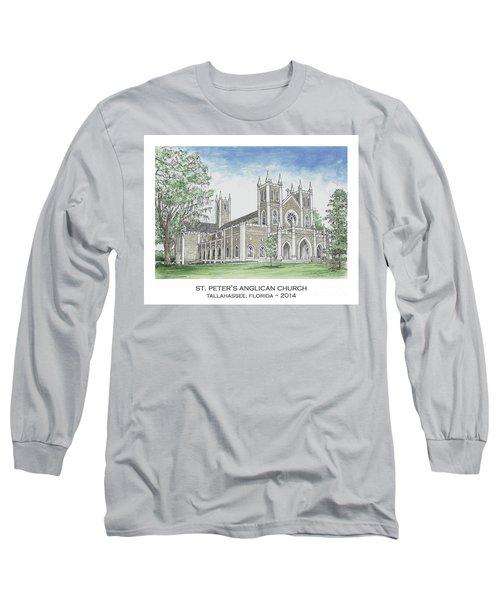 St. Peter's Anglican Church Long Sleeve T-Shirt