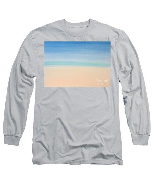 St Thomas #2 Seascape Landscape Original Fine Art Acrylic On Canvas Long Sleeve T-Shirt