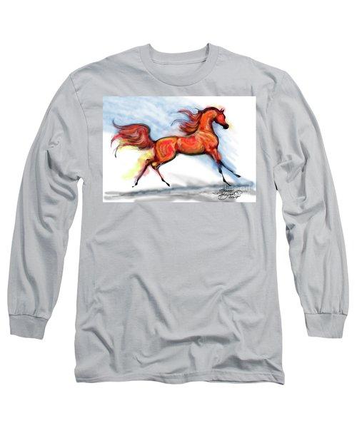 Staceys Arabian Horse Long Sleeve T-Shirt