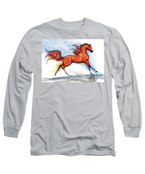 Staceys Arabian Horse Long Sleeve T-Shirt