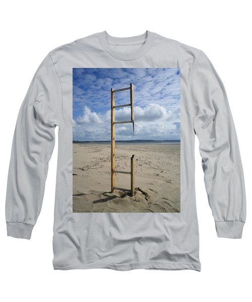 Stairway To Heaven Long Sleeve T-Shirt by Richard Brookes