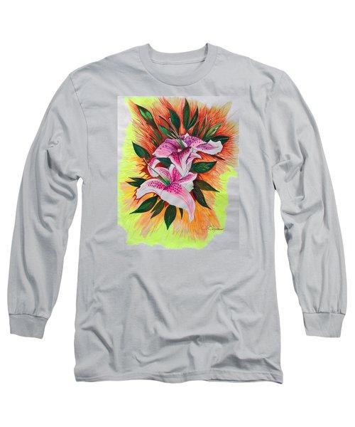 Stargazers Long Sleeve T-Shirt by J R Seymour