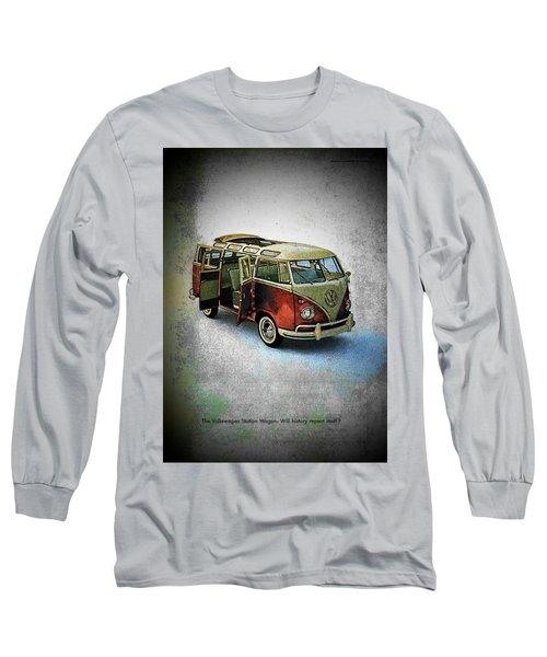 Station Wagon Long Sleeve T-Shirt by John Schneider