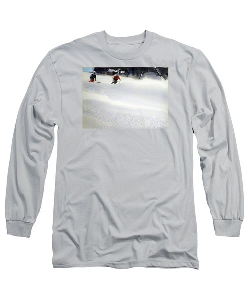 Long Sleeve T-Shirt featuring the painting Sugar Bowl by Ed Heaton